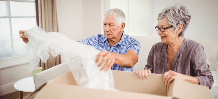 downsizing tips for the senior who has everything